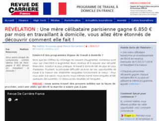 revuedecarrierefrance.com screenshot