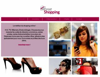 revueshopping.fr screenshot