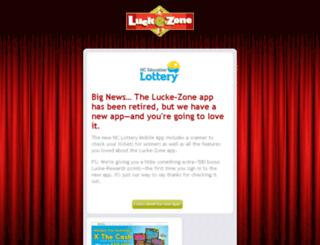 rewards.lucke-zone.com screenshot