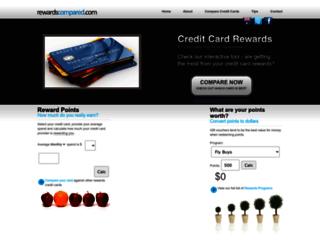 rewardscompared.com screenshot