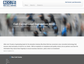 rexcallcenter.com screenshot