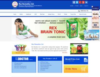 rexremedies.com screenshot