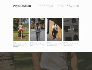 reyalfashion.com screenshot