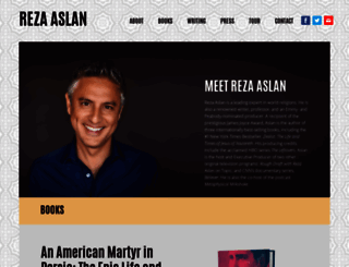 rezaaslan.com screenshot