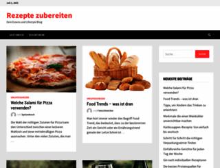rezepte-zubereiten.de screenshot