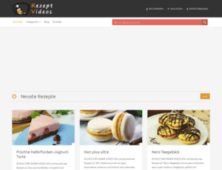 rezeptvideos.com screenshot