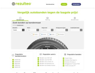 rezulteo-banden.be screenshot