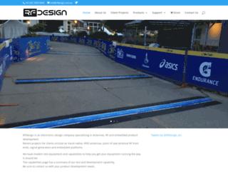 rfdesign.com.au screenshot