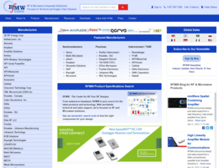 rfmw.com screenshot