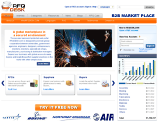 rfqdesk.com screenshot