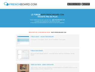 rgfp.frenchboard.com screenshot