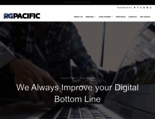 rgpacific.com screenshot
