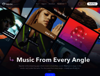 rhapsody.com screenshot