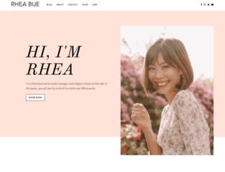 rheabue.com screenshot