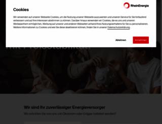 rheinenergie.com screenshot