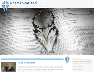 rhema-scotland.com screenshot