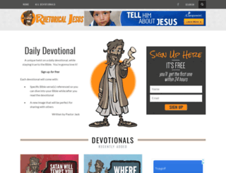 rhetoricaljesus.com screenshot