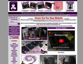 rhinestonegenie.com screenshot