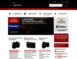 rhinocamera.fr screenshot