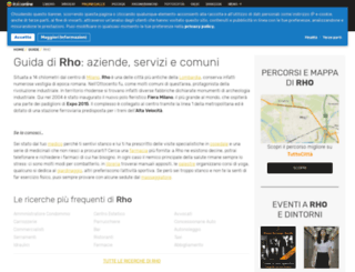 rho.paginegialle.it screenshot