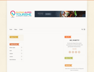 rhonealpes-tourisme.fr screenshot