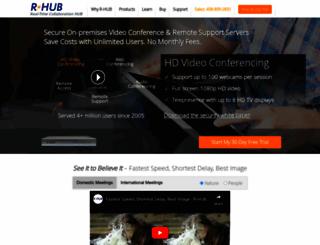 rhubcom.com screenshot