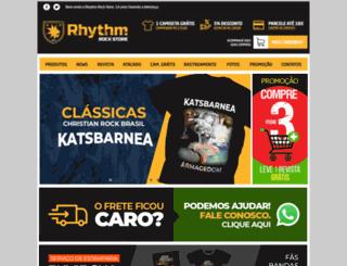 rhythmrockstore.com screenshot