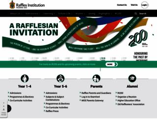ri.edu.sg screenshot