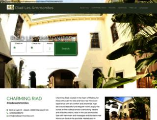 riadlesammonites.com screenshot