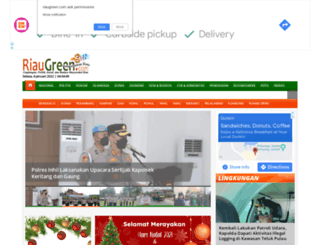 riaugreen.com screenshot