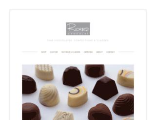 ricardchocolat.com screenshot