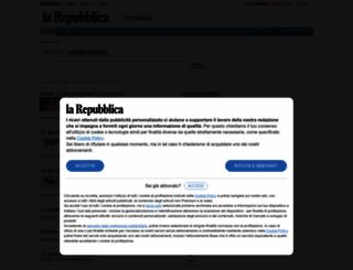 ricerca.repubblica.it screenshot