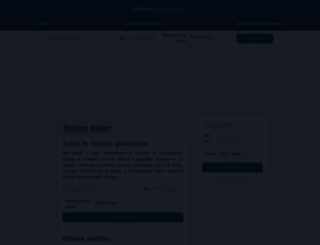 ricercagiuridica.com screenshot