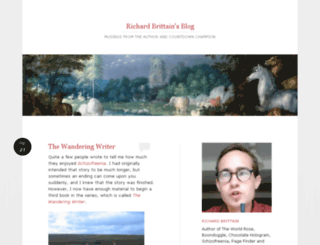 richardbrittain.wordpress.com screenshot