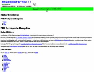 richardjh.org screenshot