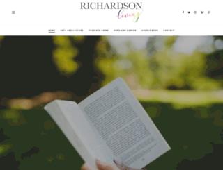 richardsonliving.com screenshot