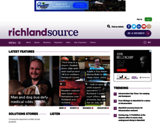 richlandsource.com screenshot
