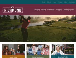 richmondkytourism.com screenshot