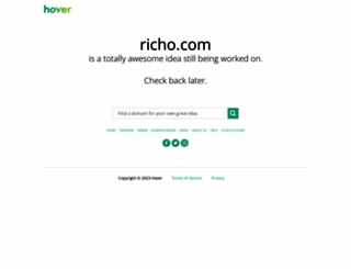 richo.com screenshot