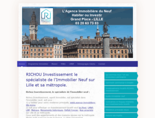 richou-investissement.com screenshot