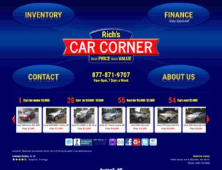 richscarcorner.com screenshot
