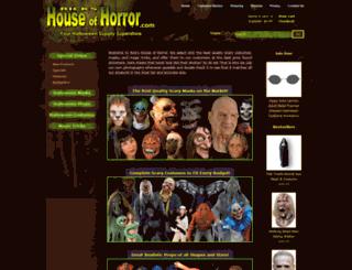 rickshouseofhorror.com screenshot