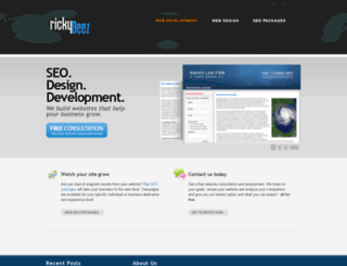 rickydeez.com screenshot