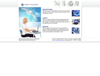 rickytan.com screenshot