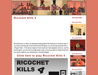 ricochetkills4.com screenshot