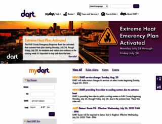 ridedart.com screenshot