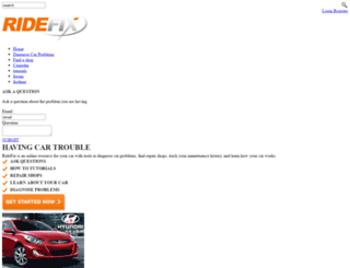 ridefix.com screenshot