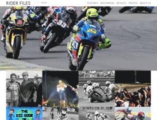 riderfiles.com screenshot