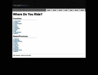 ridertech.com screenshot