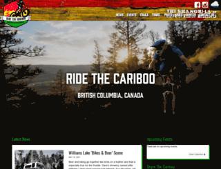 ridethecariboo.ca screenshot